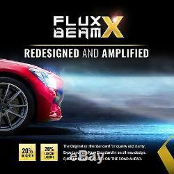 OPT7 Fluxbeam X 9007 LED Headlight Bulbs 60w Pair CREE 6000K White Light Kit