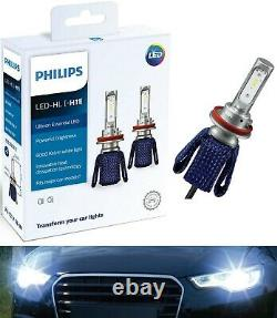 Philips Ultinon LED Kit 6000K White H11 Two Bulbs Head Light Low Beam OE Replace