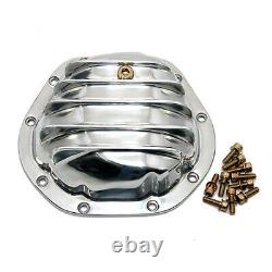 Polished Aluminum Differential Cover Dana 44 Rear Axle Jeep Wrangler IH Scout