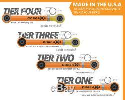 Rear Adjustable Control Arm Set LIFETIME GUARANTEE Jeep Wrangler TJ LJ