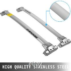 Roof Rack Cross Bar for JEEP Grand Cherokee 2011-2020 Smooth Stainless Steel