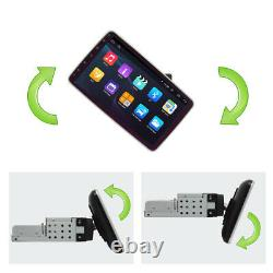 Rotatable Single 1Din 10.1'' Quad Core Android 9.1 Car GPS WiFi MP5 Player 1+16G