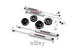 Rough Country 69530- 2 Lift Kit for Jeep 99-04 Grand Cherokee WJ 4WD