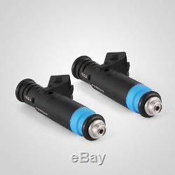 Set of 8 High Impedance 80lb 835cc EV1 Fuel Injectors for Ford GM V8 LT1 LS1 LS6