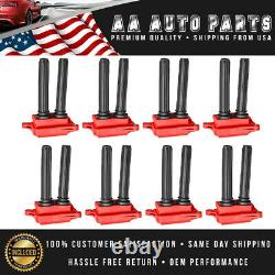 Set of 8 Red Ignition Coils for 06-19 Dodge Charger 08-18 Challenger 56029129AA