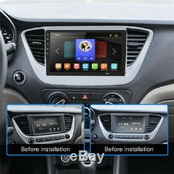 Single DIN 9 Touch Screen Android 8.1 Car Stereo Radio GPS WiFi with Rear Camera