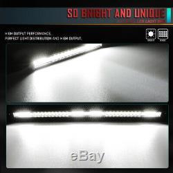 Slim SingleRow 12Inch LED Work Light Bar Flood Spot Driving Fog Lamp Offroad ATV