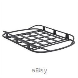 Smittybilt 17185 Rugged Rack Roof Basket 50 X 70 250 Lb. Rating Textured Black