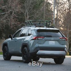 Topline For Jeep Modular HD Roof Rack Basket Storage+Wind Fairing Matte Black