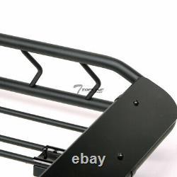 Topline For Jeep Modular Roof Rack Basket Storage Carrier Fairing Matte Black