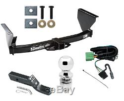Trailer Tow Hitch For 99-04 Jeep Grand Cherokee Complete Pkg with Wiring & 2 Ball