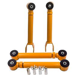 Tubular Adjustable Front & Rear Upper Control Arms for Jeep Wrangler Cherokee