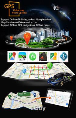 Ultra Thin 9 Android 8.0 2Din Octa-Core 16G Car Dash Stereo Radio GPS Wifi RDS