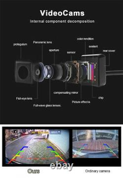 Universal 360 Degree Surround Bird Panoramic View Parking System With 4 HD Camera