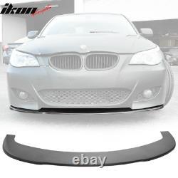 Universal 66 Car Front Bumper Lip Body Kit Spoiler Flat Under Panel Splitter PU