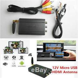 Universal Auot Car Home Miracast Airplay Android IOS TV WiFi Mirror Link Adapter