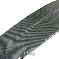 Universal GT-Style GT Universal Carbon Fiber Style Wing Spoiler Rear Trunk Wing