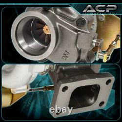 Universal T3/T4.63AR Turbo Charger Compressor 2.5 V-Band Internal Wastegate