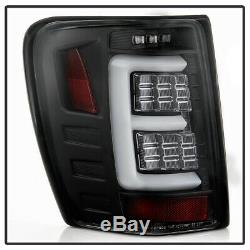 Upgrade withFull LED Black 1999-2004 Jeep Grand Cherokee Tail Lights Brake Lamps