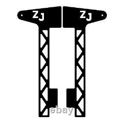 Windshield Pillar Mount Brackets LED Light Bar FITS Jeep Grand Cherokee ZJ 93-98