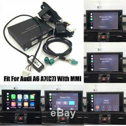 Wired Apple&Android CarPlay Decoder for Audi A6 A7(C7) 3G/3G+MMI muItimedia
